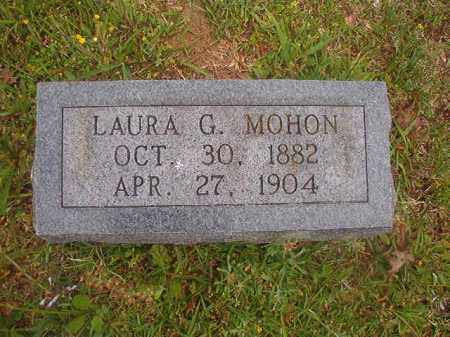 MOHON, LAURA G - Nevada County, Arkansas | LAURA G MOHON - Arkansas Gravestone Photos