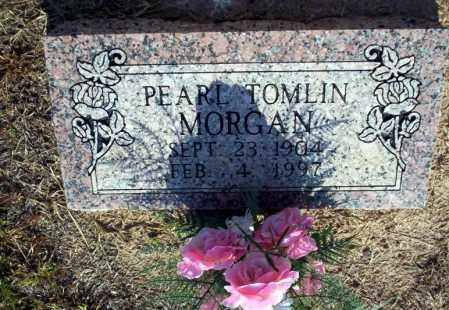 TOMLIN MORGAN, PEARL - Nevada County, Arkansas | PEARL TOMLIN MORGAN - Arkansas Gravestone Photos
