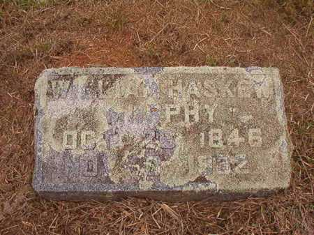 MURPHY, JR, WILLIAM HASKEW - Nevada County, Arkansas | WILLIAM HASKEW MURPHY, JR - Arkansas Gravestone Photos