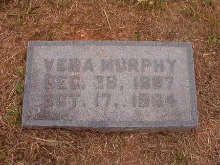 MURPHY, VERA - Nevada County, Arkansas | VERA MURPHY - Arkansas Gravestone Photos