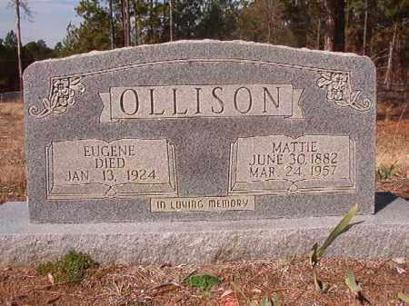 OLLISON, EUGENE - Nevada County, Arkansas | EUGENE OLLISON - Arkansas Gravestone Photos