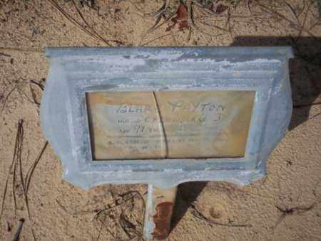 PAYTON, BLARE - Nevada County, Arkansas | BLARE PAYTON - Arkansas Gravestone Photos