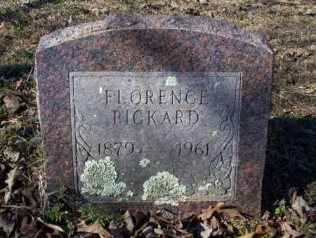 PICKARD, FLORENCE - Nevada County, Arkansas   FLORENCE PICKARD - Arkansas Gravestone Photos