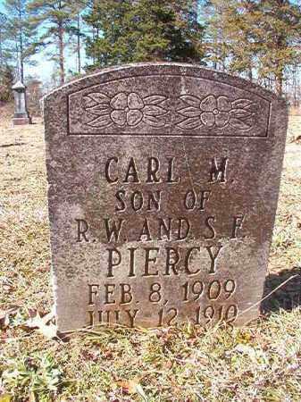 PIERCY, CARL M - Nevada County, Arkansas | CARL M PIERCY - Arkansas Gravestone Photos