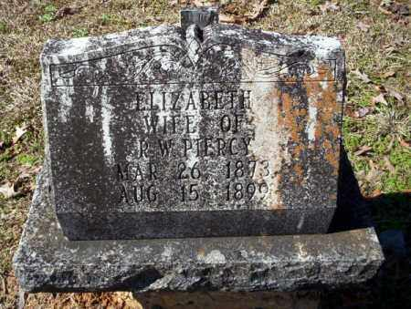 PIERCY, ELIZABETH - Nevada County, Arkansas | ELIZABETH PIERCY - Arkansas Gravestone Photos