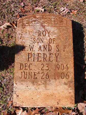 PIERCY, ROY - Nevada County, Arkansas | ROY PIERCY - Arkansas Gravestone Photos