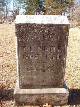 PIRTLE, T L - Nevada County, Arkansas | T L PIRTLE - Arkansas Gravestone Photos