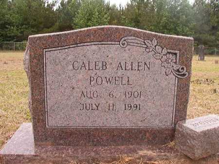 POWELL, CALEB ALLEN - Nevada County, Arkansas | CALEB ALLEN POWELL - Arkansas Gravestone Photos