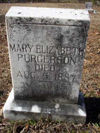 PURGERSON, MARY ELIZABETH - Nevada County, Arkansas | MARY ELIZABETH PURGERSON - Arkansas Gravestone Photos
