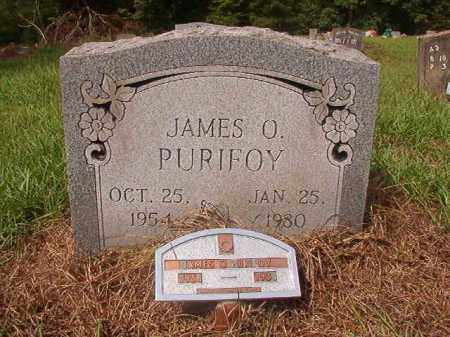 PURIFOY, JAMES O - Nevada County, Arkansas | JAMES O PURIFOY - Arkansas Gravestone Photos