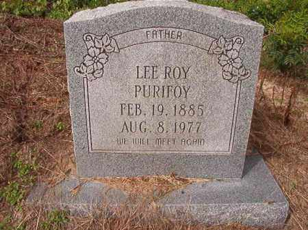 PURIFOY, LEE ROY - Nevada County, Arkansas | LEE ROY PURIFOY - Arkansas Gravestone Photos