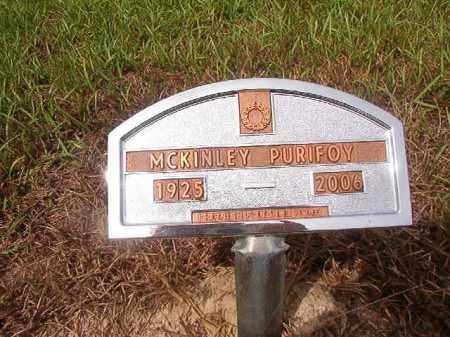 PURIFOY, MCKINLEY - Nevada County, Arkansas | MCKINLEY PURIFOY - Arkansas Gravestone Photos