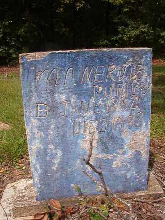 PURIFOY, MANERVIE - Nevada County, Arkansas | MANERVIE PURIFOY - Arkansas Gravestone Photos