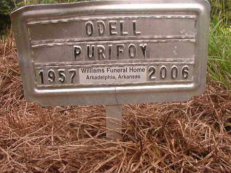 PURIFOY, ODELL - Nevada County, Arkansas | ODELL PURIFOY - Arkansas Gravestone Photos
