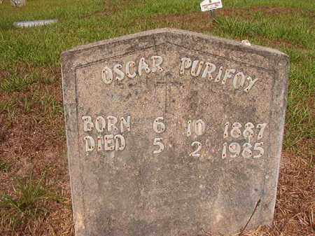 PURIFOY, OSCAR - Nevada County, Arkansas | OSCAR PURIFOY - Arkansas Gravestone Photos