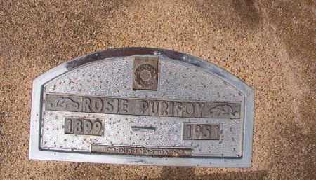 PURIFOY, ROSIE - Nevada County, Arkansas | ROSIE PURIFOY - Arkansas Gravestone Photos