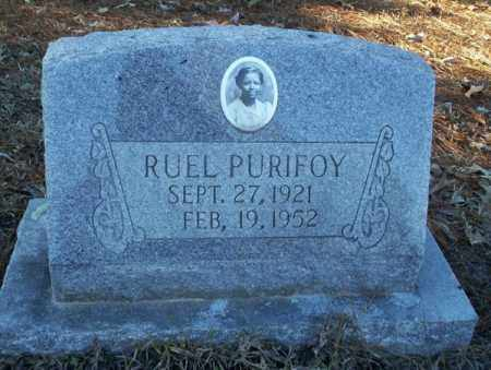 PURIFOY, RUEL - Nevada County, Arkansas | RUEL PURIFOY - Arkansas Gravestone Photos