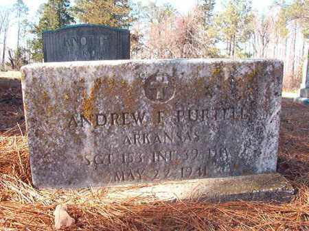 PURTELL (VETERAN), ANDREW F - Nevada County, Arkansas | ANDREW F PURTELL (VETERAN) - Arkansas Gravestone Photos