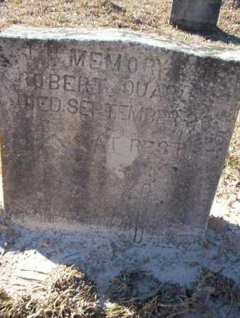 QUARLES, ROBERT - Nevada County, Arkansas   ROBERT QUARLES - Arkansas Gravestone Photos