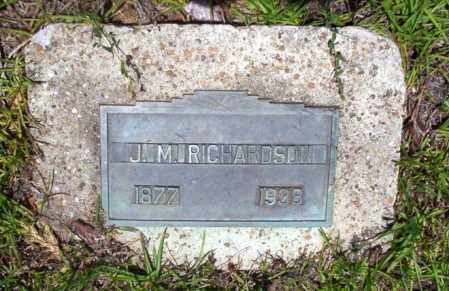 RICHARDSON, J. M. - Nevada County, Arkansas   J. M. RICHARDSON - Arkansas Gravestone Photos
