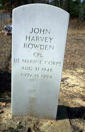 ROWDEN (VETERAN), JOHN HARVEY - Nevada County, Arkansas | JOHN HARVEY ROWDEN (VETERAN) - Arkansas Gravestone Photos