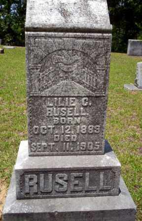 RUSELL, LILIE C. - Nevada County, Arkansas | LILIE C. RUSELL - Arkansas Gravestone Photos