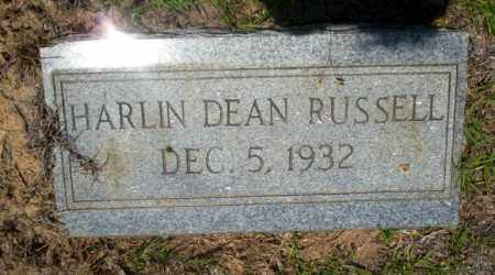 RUSSELL, HARLIN DEAN - Nevada County, Arkansas | HARLIN DEAN RUSSELL - Arkansas Gravestone Photos