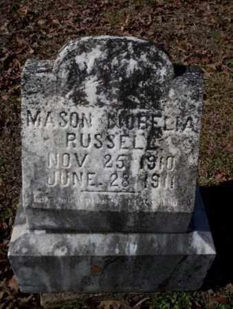 RUSSELL, MASON NOBELIA - Nevada County, Arkansas | MASON NOBELIA RUSSELL - Arkansas Gravestone Photos