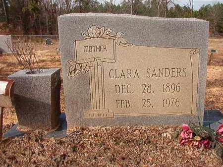 SANDERS, CLARA - Nevada County, Arkansas | CLARA SANDERS - Arkansas Gravestone Photos