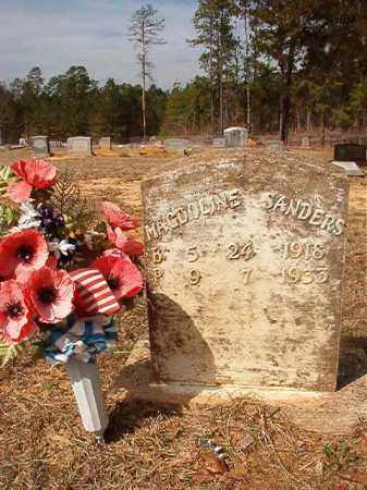 SANDERS, MAGDOLINE - Nevada County, Arkansas | MAGDOLINE SANDERS - Arkansas Gravestone Photos