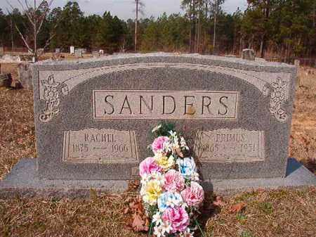 SANDERS, RACHEL - Nevada County, Arkansas | RACHEL SANDERS - Arkansas Gravestone Photos