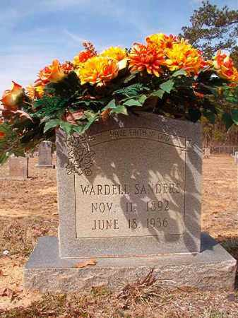 SANDERS, WARDELL - Nevada County, Arkansas | WARDELL SANDERS - Arkansas Gravestone Photos