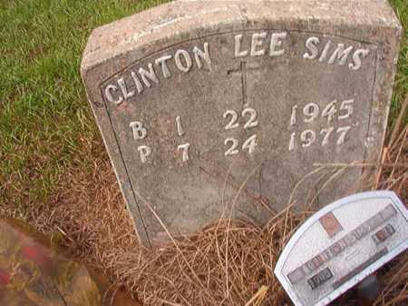 SIMS, CLINTON LEE - Nevada County, Arkansas | CLINTON LEE SIMS - Arkansas Gravestone Photos