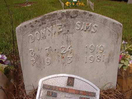 SIMS, DONNIE - Nevada County, Arkansas | DONNIE SIMS - Arkansas Gravestone Photos