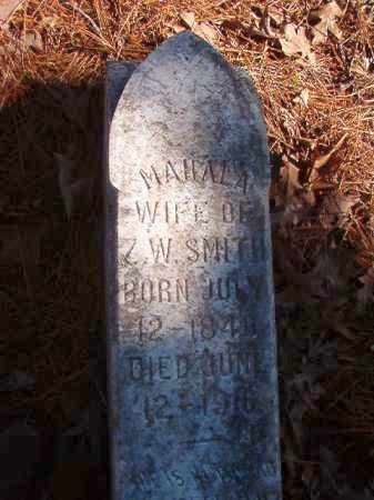 SMITH, MAHALA - Nevada County, Arkansas | MAHALA SMITH - Arkansas Gravestone Photos