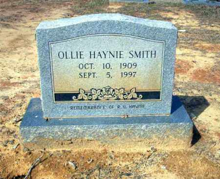 HAYNIE SMITH, OLLIE - Nevada County, Arkansas | OLLIE HAYNIE SMITH - Arkansas Gravestone Photos