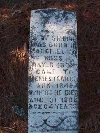 SMITH, Z W - Nevada County, Arkansas | Z W SMITH - Arkansas Gravestone Photos
