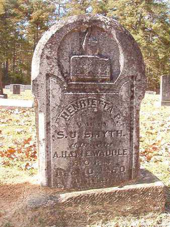 SMYTH, HENRIETTA - Nevada County, Arkansas | HENRIETTA SMYTH - Arkansas Gravestone Photos