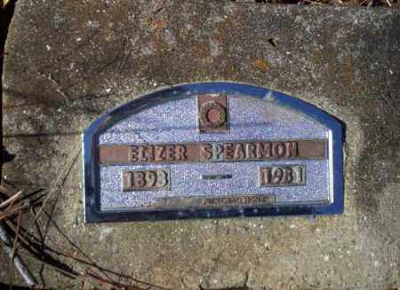 SPEARMON, ELIZER - Nevada County, Arkansas | ELIZER SPEARMON - Arkansas Gravestone Photos