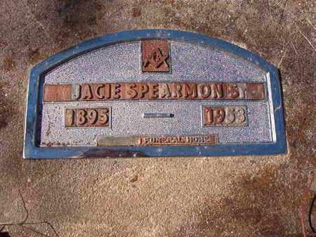 SPEARMON, SR, JACIE - Nevada County, Arkansas | JACIE SPEARMON, SR - Arkansas Gravestone Photos