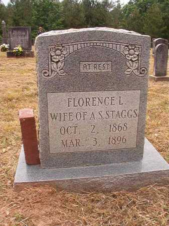 STAGGS, FLORENCE L - Nevada County, Arkansas | FLORENCE L STAGGS - Arkansas Gravestone Photos