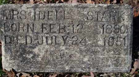 STARK, MRS. IDELL - Nevada County, Arkansas | MRS. IDELL STARK - Arkansas Gravestone Photos