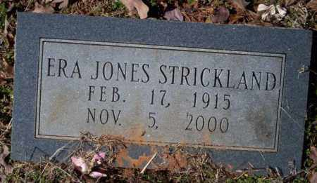 JONES STRICKLAND, ERA - Nevada County, Arkansas | ERA JONES STRICKLAND - Arkansas Gravestone Photos