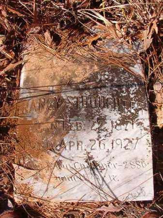 STROUGHTER, NANCY - Nevada County, Arkansas | NANCY STROUGHTER - Arkansas Gravestone Photos