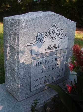 SIMPSON STUCKEY, ALVERN - Nevada County, Arkansas | ALVERN SIMPSON STUCKEY - Arkansas Gravestone Photos