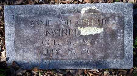 SWINDLE, ANNIE LOU - Nevada County, Arkansas | ANNIE LOU SWINDLE - Arkansas Gravestone Photos