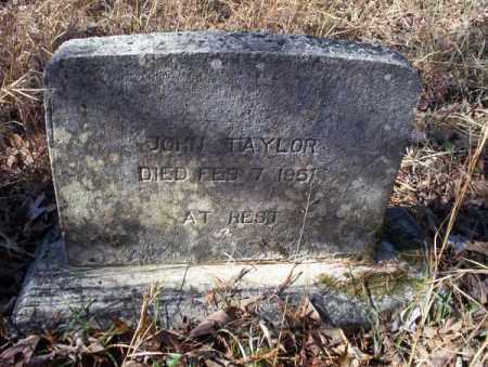 TAYLOR, JOHN - Nevada County, Arkansas | JOHN TAYLOR - Arkansas Gravestone Photos
