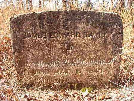 TAYLOR, JAMES EDWARD - Nevada County, Arkansas | JAMES EDWARD TAYLOR - Arkansas Gravestone Photos