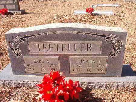 TEFTELLER, EARL A - Nevada County, Arkansas | EARL A TEFTELLER - Arkansas Gravestone Photos