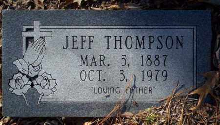 THOMPSON, JEFF - Nevada County, Arkansas | JEFF THOMPSON - Arkansas Gravestone Photos